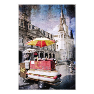 Hot Dogs in the Vieux Carre Photo Art