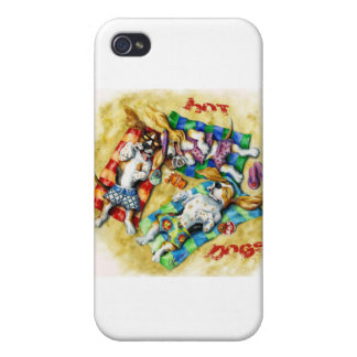 Hot Dogs Cover For iPhone 4