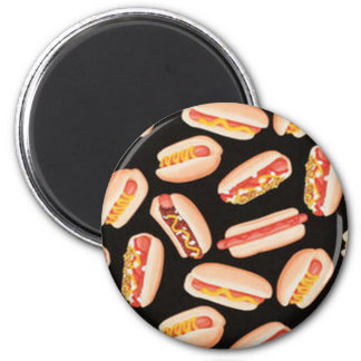 Hot Dogs Refrigerator Magnet