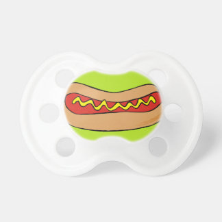 hot dogs pacifier