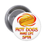 Hot Dogs Spin Pins
