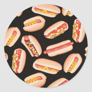 Hot Dogs Stickers