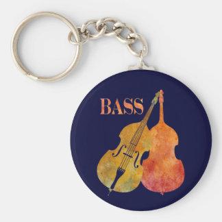 Hot Double Bass Key Chain