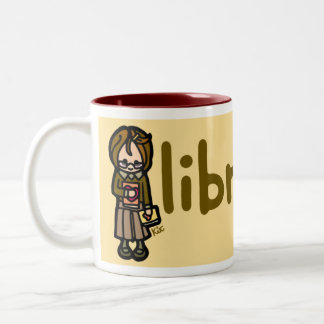 hot drink and high culture. Two-Tone coffee mug