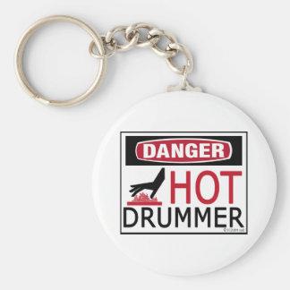 Hot Drummer Keychain