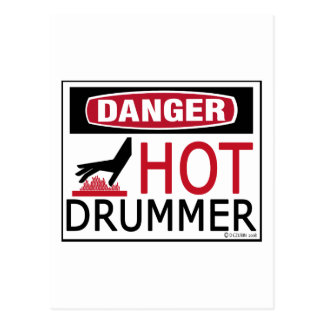 Hot Drummer Post Cards