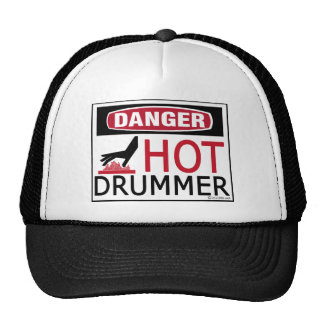 Hot Drummer Trucker Hat