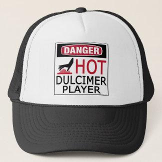 Hot Dulcimer Player Trucker Hat