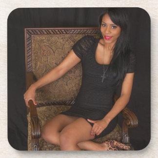 Hot Ebony Princess Coasters