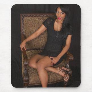 Hot Ebony Princess Mouse Pad