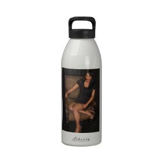 Hot Ebony Princess Reusable Water Bottles