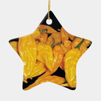 Hot Fatalii Chilli Pepper Ceramic Ornament