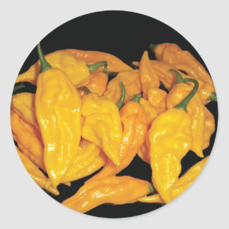Hot Fatalii Chilli Pepper Classic Round Sticker