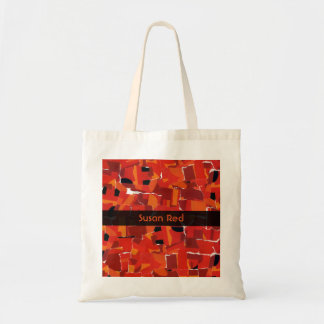 Hot Faux Mosaic Collage Tote Bag