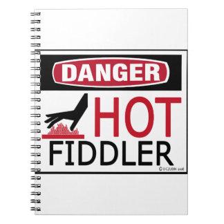 Hot Fiddler Note Books