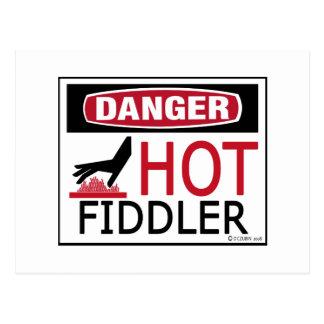 Hot Fiddler Postcard