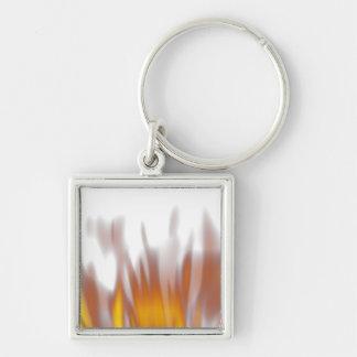 Hot Fiery Burning Flames Keychain