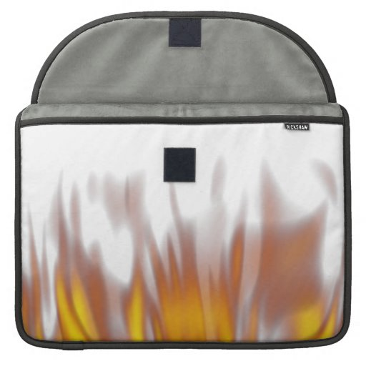 Hot Fiery Burning Flames Sleeves For MacBook Pro