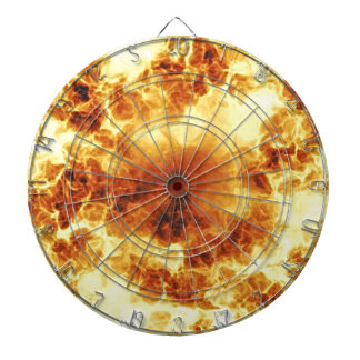 Hot Fiery Exploding Flames Dartboard