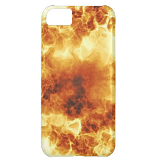 Hot Fiery Exploding Flames iPhone 5C Cover