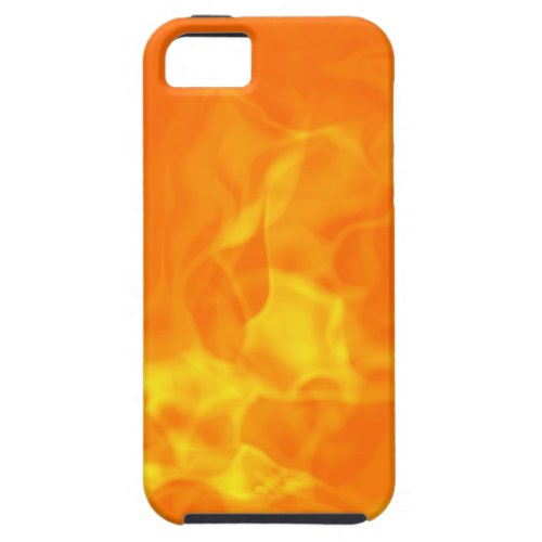 Hot Fiery Flames Background iPhone 5 Cover