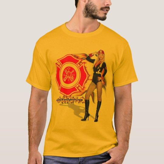 Hot Fire Chick Shirt