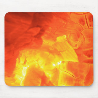 Hot fire hot mouse pad