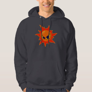 Hot Fire Smiley Face Sweatshirt