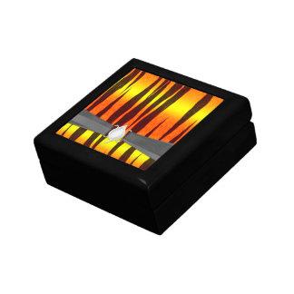 hot fire tiger stripes jewelry box