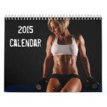 Hot Fitness Girls - Gym Calendar 2015