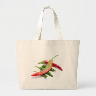 Hot five chili large tote bag