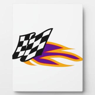 Hot Flag Plaque