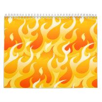 Hot flames calendar