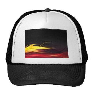 Hot Flames Mesh Hat