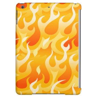 Hot flames iPad air cover