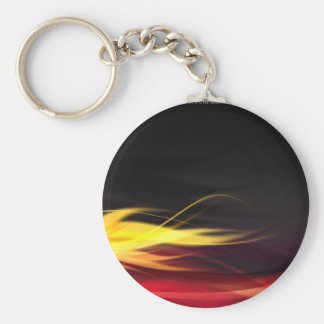 Hot Flames Keychains