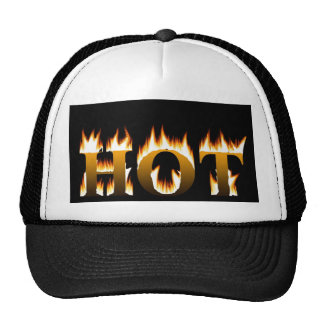 Hot Flames Trucker Hat