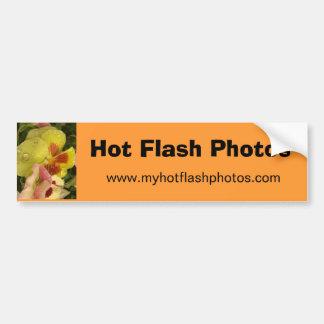 Hot Flash Photos Bumper Sticker