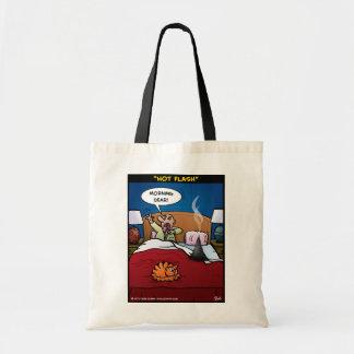 """""""Hot Flash"""" Tote Bag"""