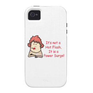Hot Flashes Vibe iPhone 4 Case