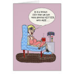 HOT FLASHES FUNNY BIRTHDAY CARD