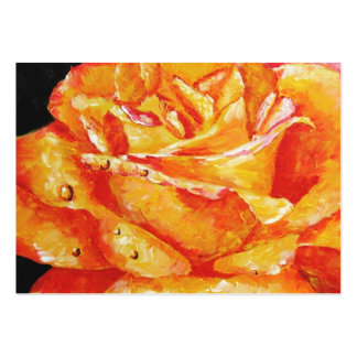 Hot Flashes (Rose) ACEO Art Trading Cards Business Card Templates