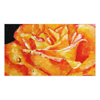 Hot Flashes (Rose) Business Cards