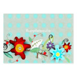 Hot Floral Business Card