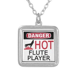 Hot Flute Player Custom Necklace