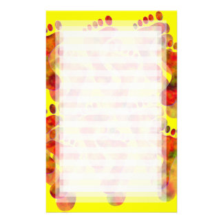 Hot Footing It: Yellow Stationery