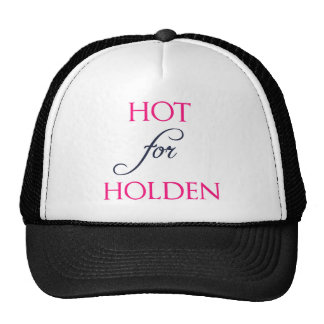 Hot for Holden - The Auction by J.B. McGee Trucker Hat
