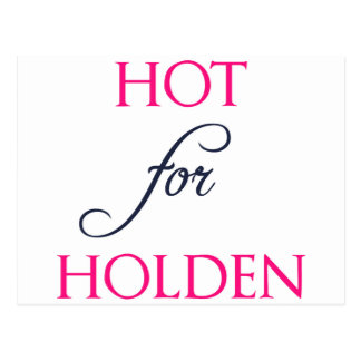 Hot for Holden - The Auction by J.B. McGee Postcard