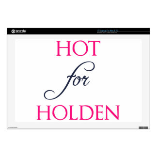 Hot for Holden - The Auction by J.B. McGee Decals For Laptops