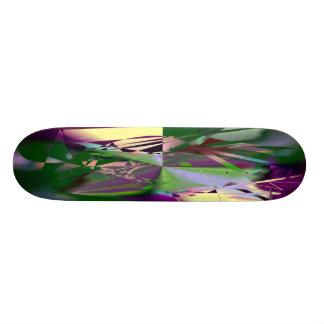 Hot Frac Designs by Leslie Harlow Skateboard